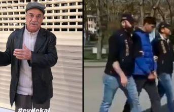 Yaşlı vatandaşla dalga geçmişti, yakalandı!