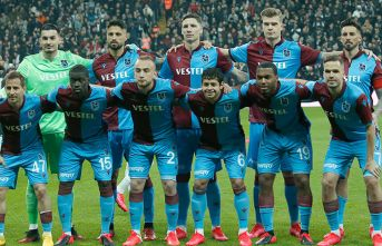 İşte rakamlarla Trabzonspor! Pas,şut,korner...