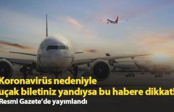 Koronavirüs nedeniyle uçak biletiniz yandıysa bu...