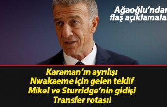 Ağaoğlu'ndan flaş açıklamalar: Mikel'in...