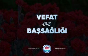 Başkan Zorluoğlu'ndan Emniyet Müdürü Alper'e başsağlığı mesajı