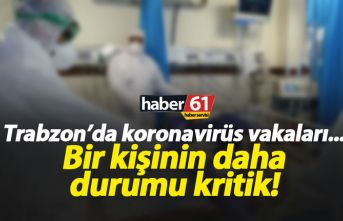 Trabzon'da koronavirüs hastası bir kişinin durumu...