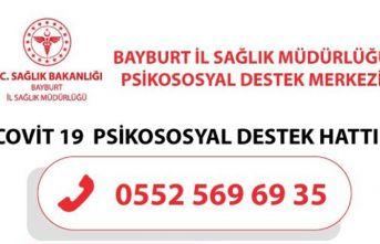 Bayburt'ta Psikososyal birimi kuruldu