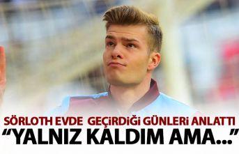Trabzonspor'un yıldızı Sörloth'tan karantina...