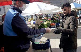 Bayburt halk pazarına yeniden düzenleme