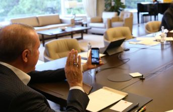 Karantina altında doğum yapan kadına Erdoğan'dan telefon