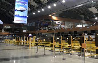Sabiha Gökçen Havalimanı'nda tüm uçuşlar durduruldu