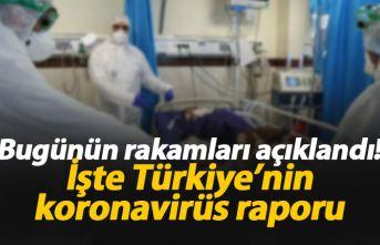 Türkiye'de koronavirüs raporu: işte yeni rakamlar