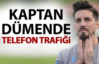 Trabzonspor'un kaptanı Sosa boş durmuyor