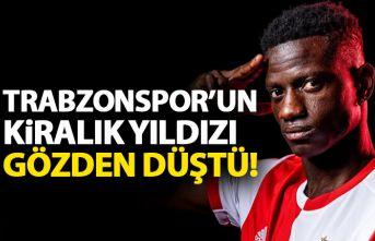 Trabzonspor'un kiralık yıldızı Edgar le gözden düştü