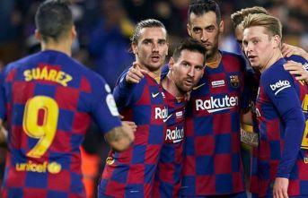 Barcelonalı futbolculardan örnek karar