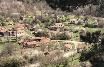 Bir köyde koronavirüs karantinası