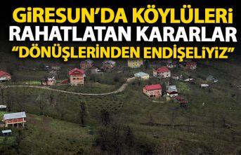 Giresun'da köylüleri endişelendiren göç dalgası