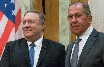 Lavrov ve Pompeo, korona virüs salgınını görüştü