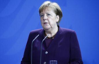 Merkel'in üçüncü test sonucu belli oldu