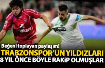 Trabzonspor'un yıldızları 8 yıl önce böyle rakip olmuşlar!