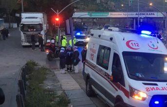Ambulansı kaçırdı, polis yakaladı!