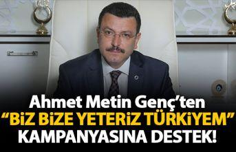 """Genç'ten """"Biz bize yeteriz Türkiyem""""..."""