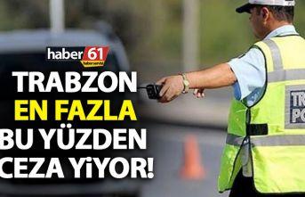 Trabzon'da sürücülere en çok bu yüzden ceza...