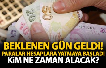 Cumhurbaşkanı Erdoğan açıklamıştı! Paralar...