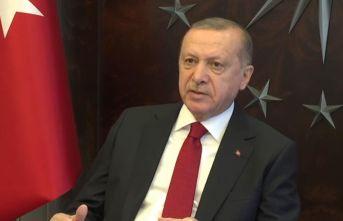"""Cumhurbaşkanı Erdoğan: """"Salgın yaygınlaşırsa..."""""""
