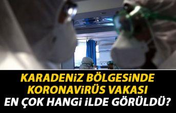 Karadeniz Bölgesi'nde en fazla Koronavirüs vakası hangi ilde?