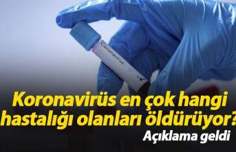 Koronavirüs en çok hangi hastalığı olanları...