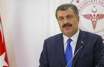 Sağlık Bakanı Fahrettin Koca açıklama yapıyor...