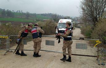Samsun'da bir mahalle karantinaya alındı