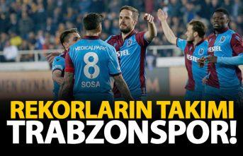 Trabzonspor rekorları alt üst etti