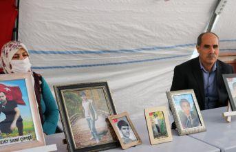 HDP önündeki evlat nöbetinde 213'üncü gün