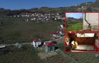 """Trabzon'da bir mahalle tedirgin! """"Gidecek..."""