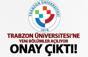 Trabzon Üniversitesi'ne müjdeli haber geldi! Yeni bölümler açılıyor!