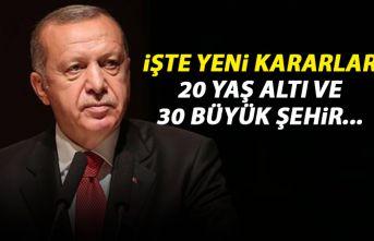 Cumhurbaşkanı Erdoğan açıkladı! İşte alınan yeni tedbirler