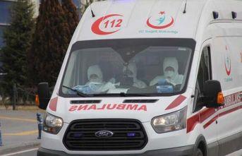 Karantinadaki vatandaş Trabzon'da polisi alarma...