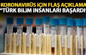 Koronavirüs tedavisinde flaş açıklama: Türk bilim insanları başardı!