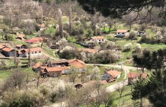 Köyde koronavirüs karantinası