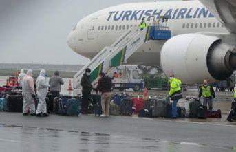 Kuveyt'ten geldiler! Trabzon'da karantinaya alındılar