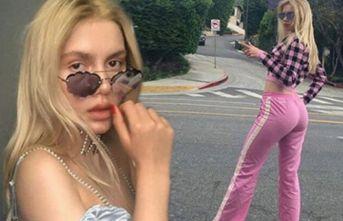 Aleyna Tilki sokağa çıkma yasağına takıldı!