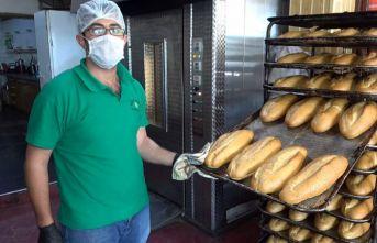 Milli dayanışma kampanyasına ücretsiz ekmekle...