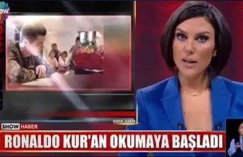 """Show TV fena trollendi """"Ronaldo Kur'an okudu"""""""