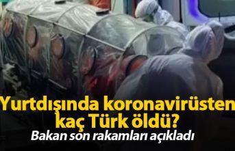 Yurt dışında koronavirüsten kaç kişi öldü?