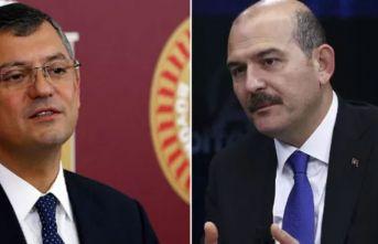 Bakan Soylu CHP'li Özel'le tartıştı