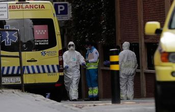 İspanya'da ölü sayısı artıyor