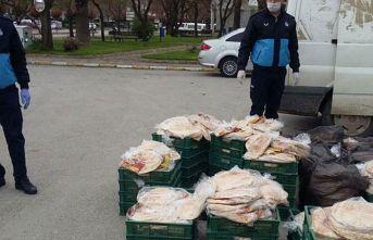 Açıkta satılan 7 bin ekmeğe el koyuldu!