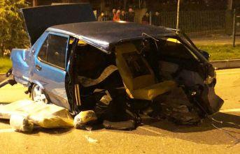 Samsun'da kaza, ölü ve yaralı var