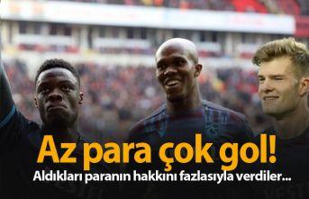 Trabzonspor'un 3 hücumcusu aldığı paranın hakkını verdi