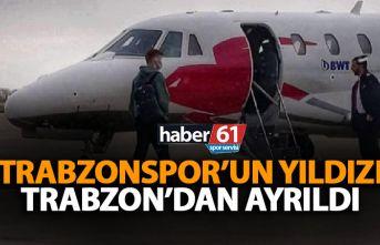 Trabzonspor'un yıldızı Sörloth ülkesine gitti! Özel uçakla…