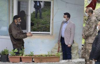 88'lik Mustafa dede emekli maaşını bağışladı