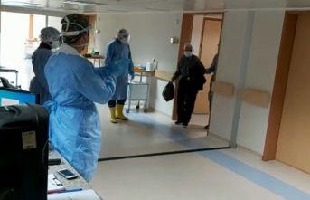 Artvin 82 yaşındaki koronavirüsü yendi! Böyle...